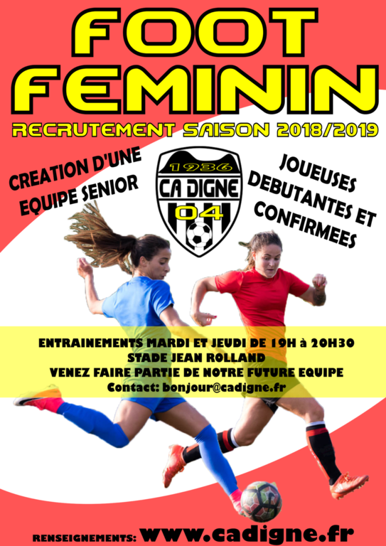 FOOT FEMININ SENIOR